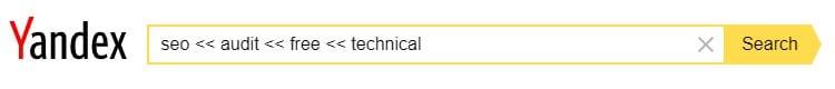 advanced yandex search operators and and2