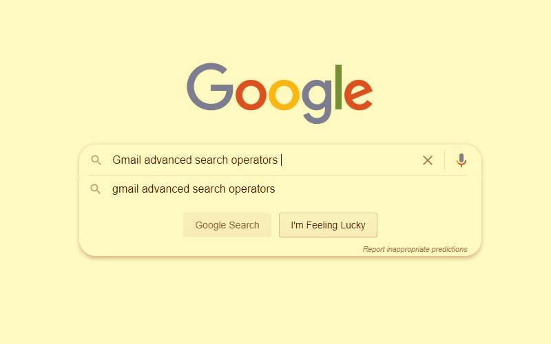 Gmail search operators with examples