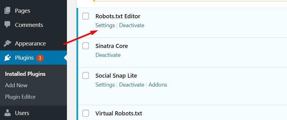 Robots.txt Editor WordPress Plugin