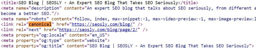 SEO basics: canonical URL