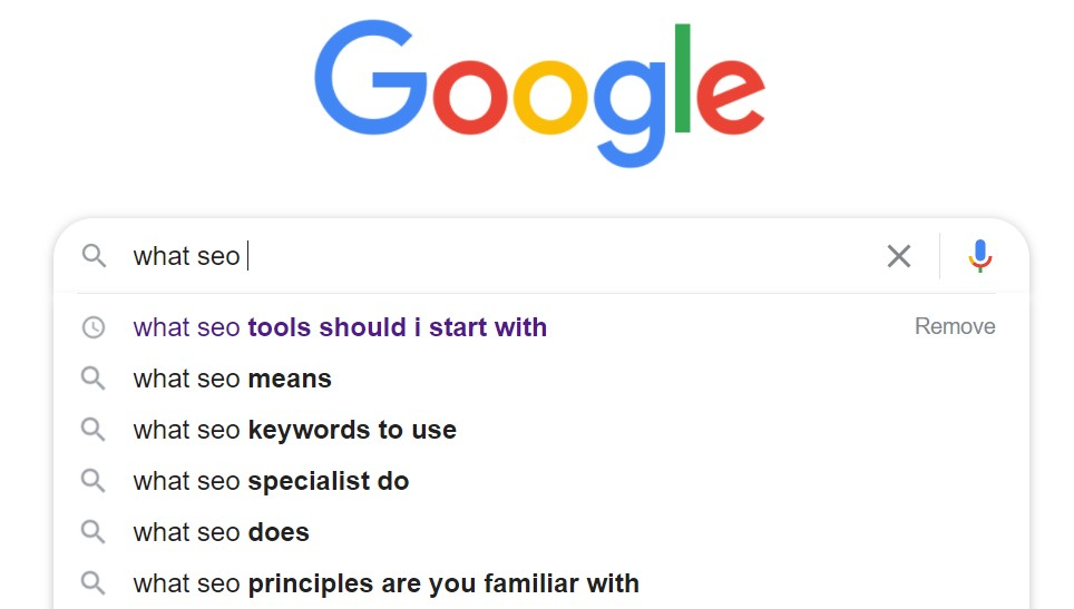 SEO Glossary: Google Autocomplete