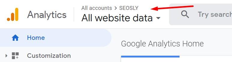 How to check organic traffic in Google Analytics