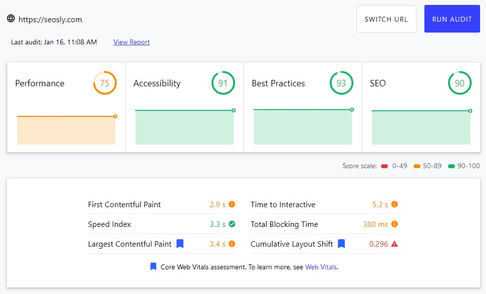 How to measure Core Web Vitals with web.dev