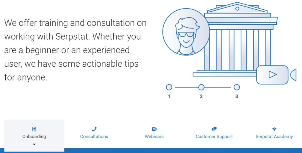 Serpstat review: customer support
