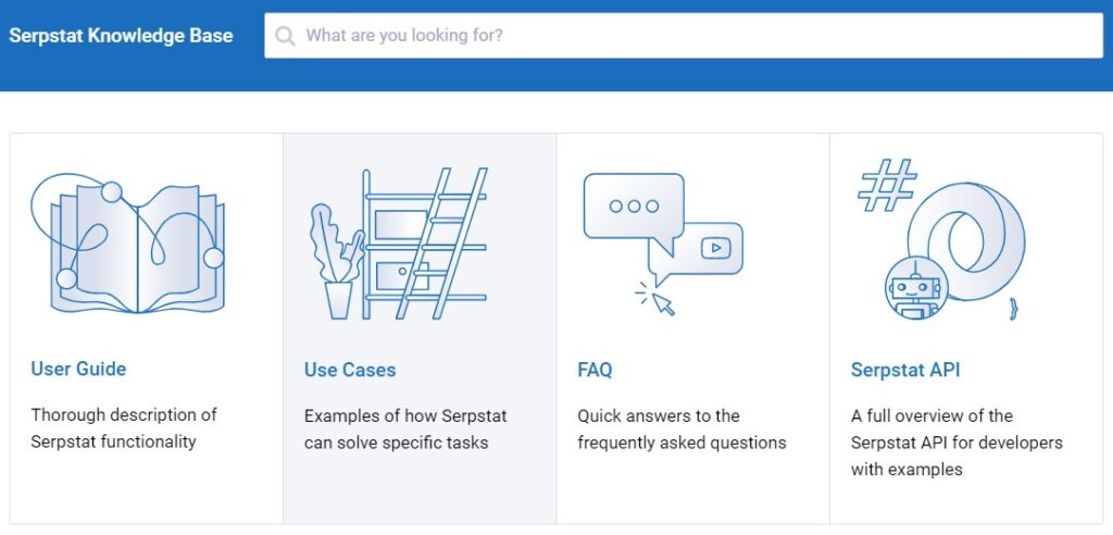Serpstat review: Serpstat Knowledge Base