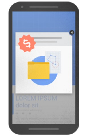 Google Page Experience Audit: Intrusive popup