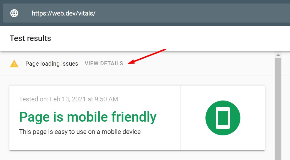 Page Experience Audit: Checking loading issues