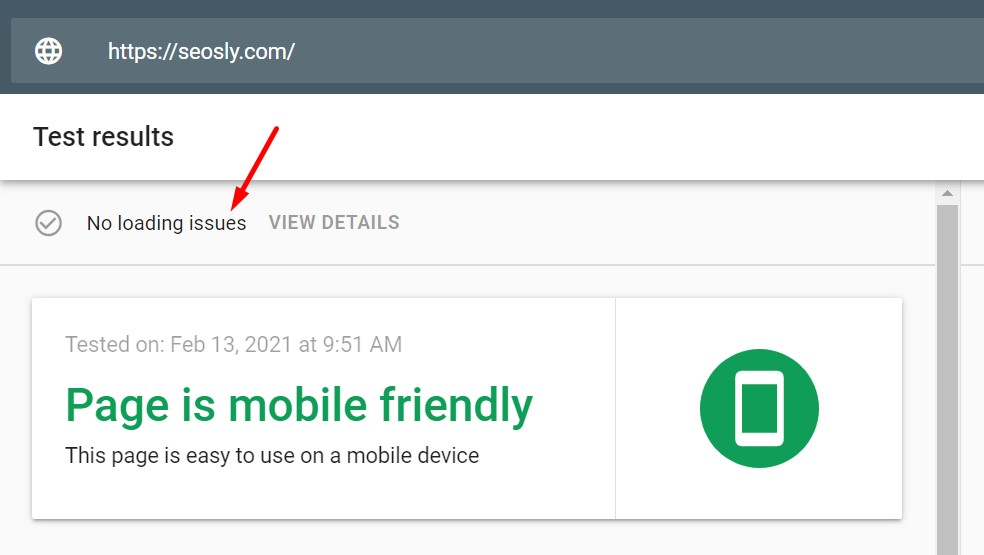 Google Page Experience Audit: Checking loading issues