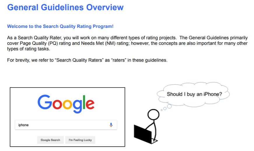 Google Search Quality Raters