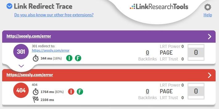 On-page SEO checklist: Error page
