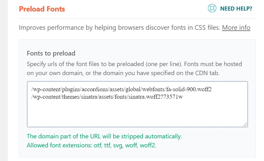 On-page SEO: Fonts