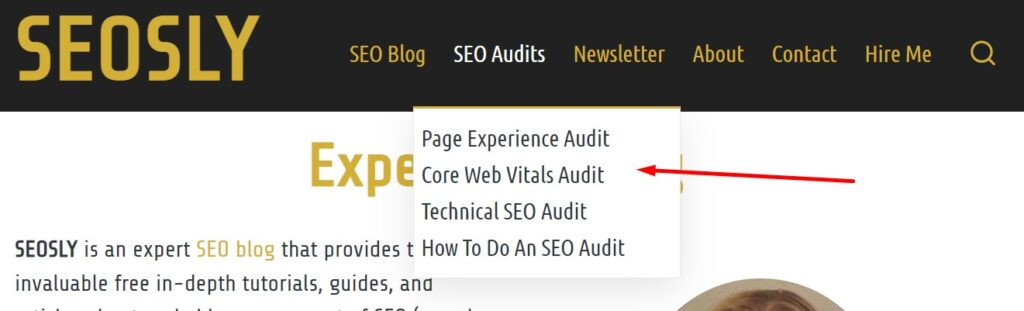 On-page SEO Checklist: navigation