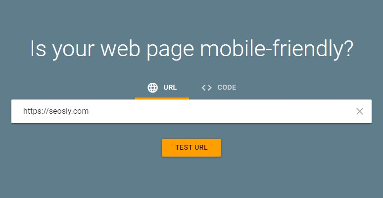 The Mobile-Friendly Test