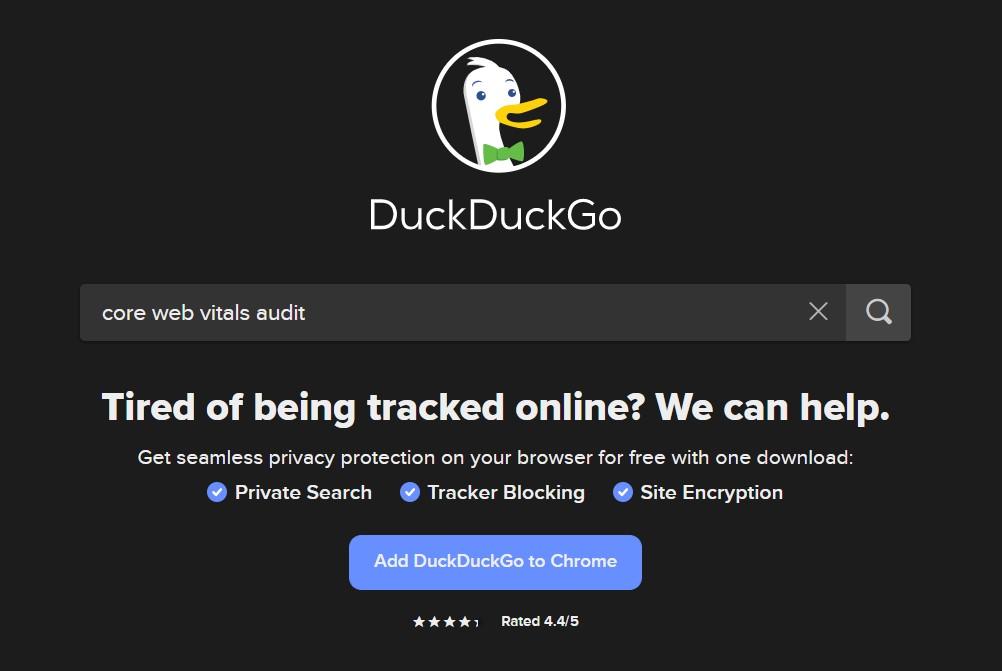 google alternatives duckduckgo