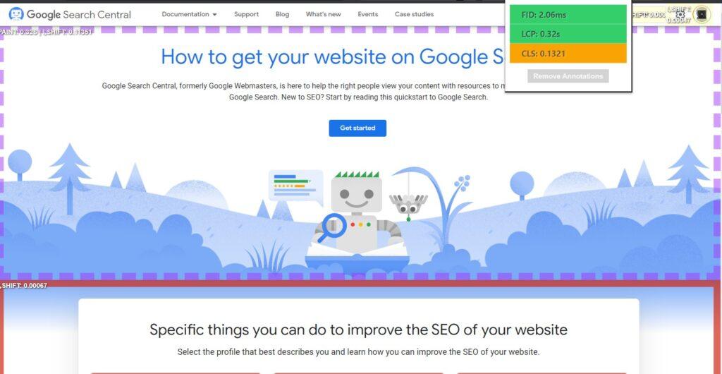 Core Web Annotations Chrome Extension