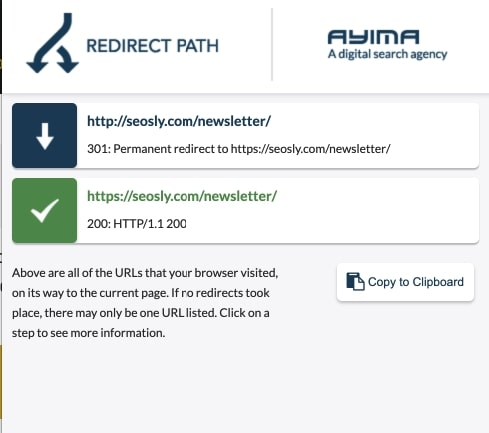 Redirect Path SEO Extension
