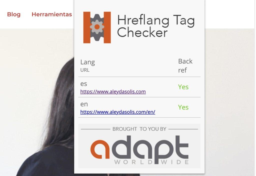 Hreflang Tag Checker SEO Chrome Extension
