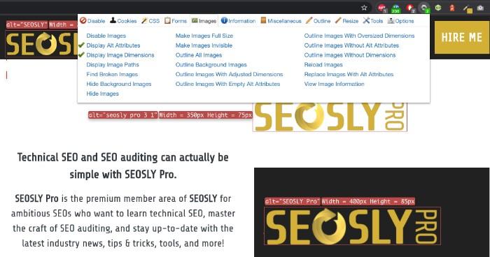 seo audit tools chrome developer