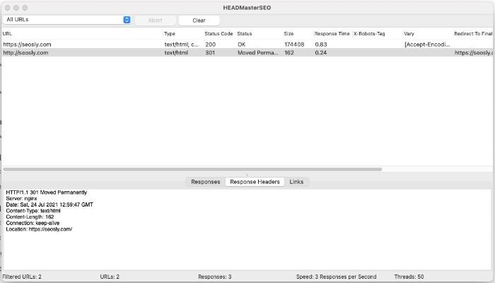 HEADMaster SEO audit tool