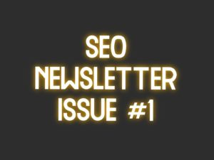 seo newsletter 1 1