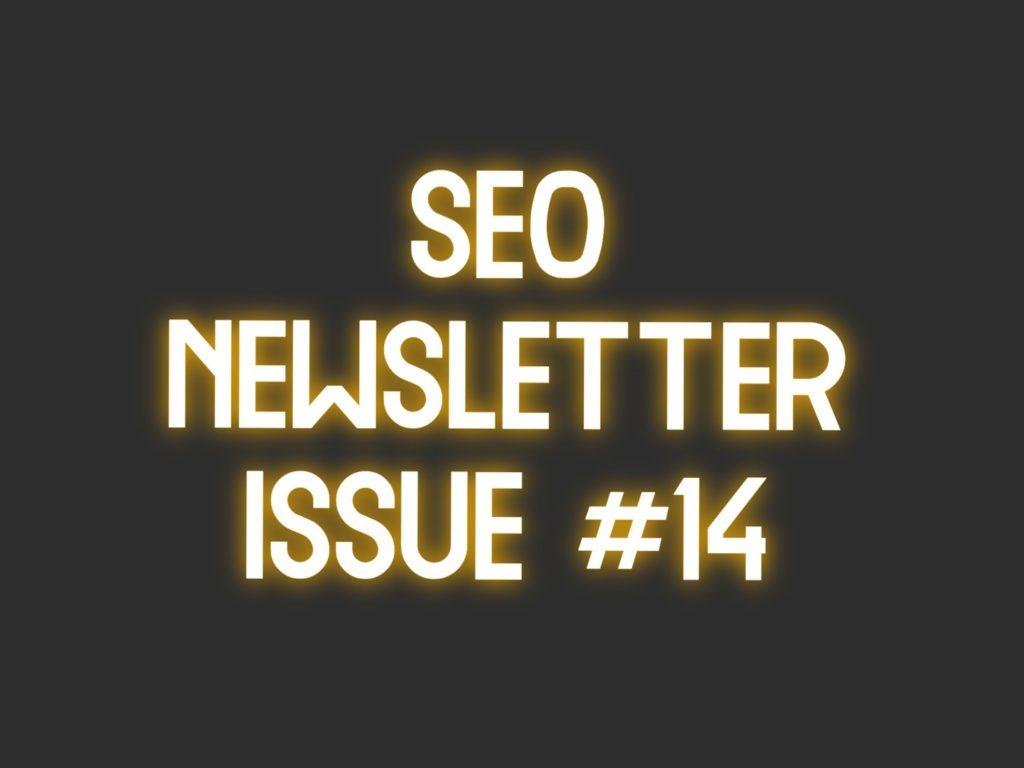 seo newsletter 14